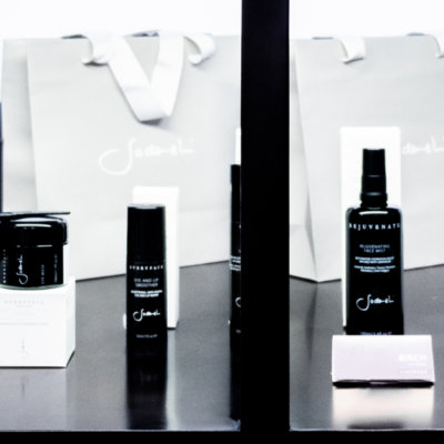 Ryko Spa uses world-class Sodashi skin-care products.