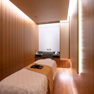 Relaxing Japanese tatami-style therapy rooms